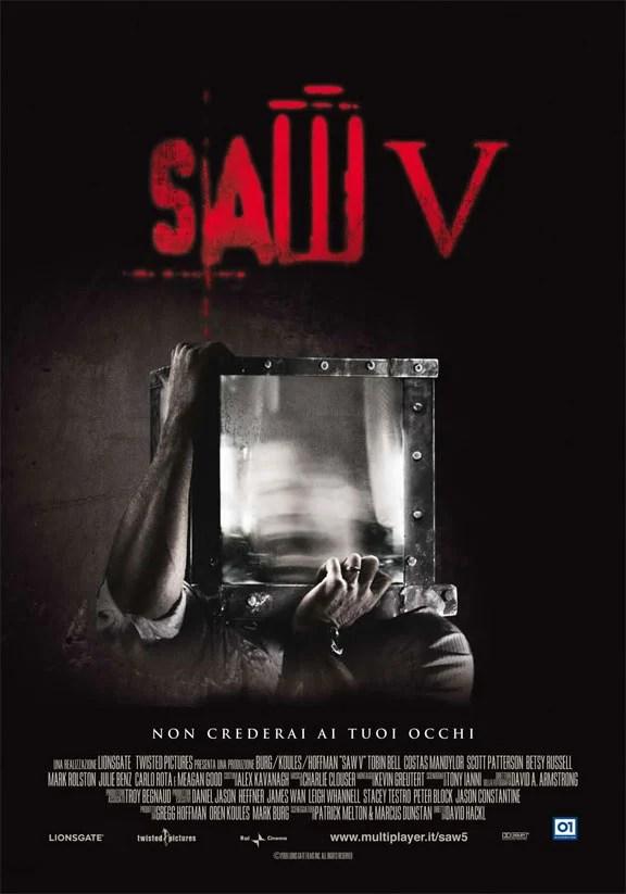 Poster do filme Jogos Mortais 5
