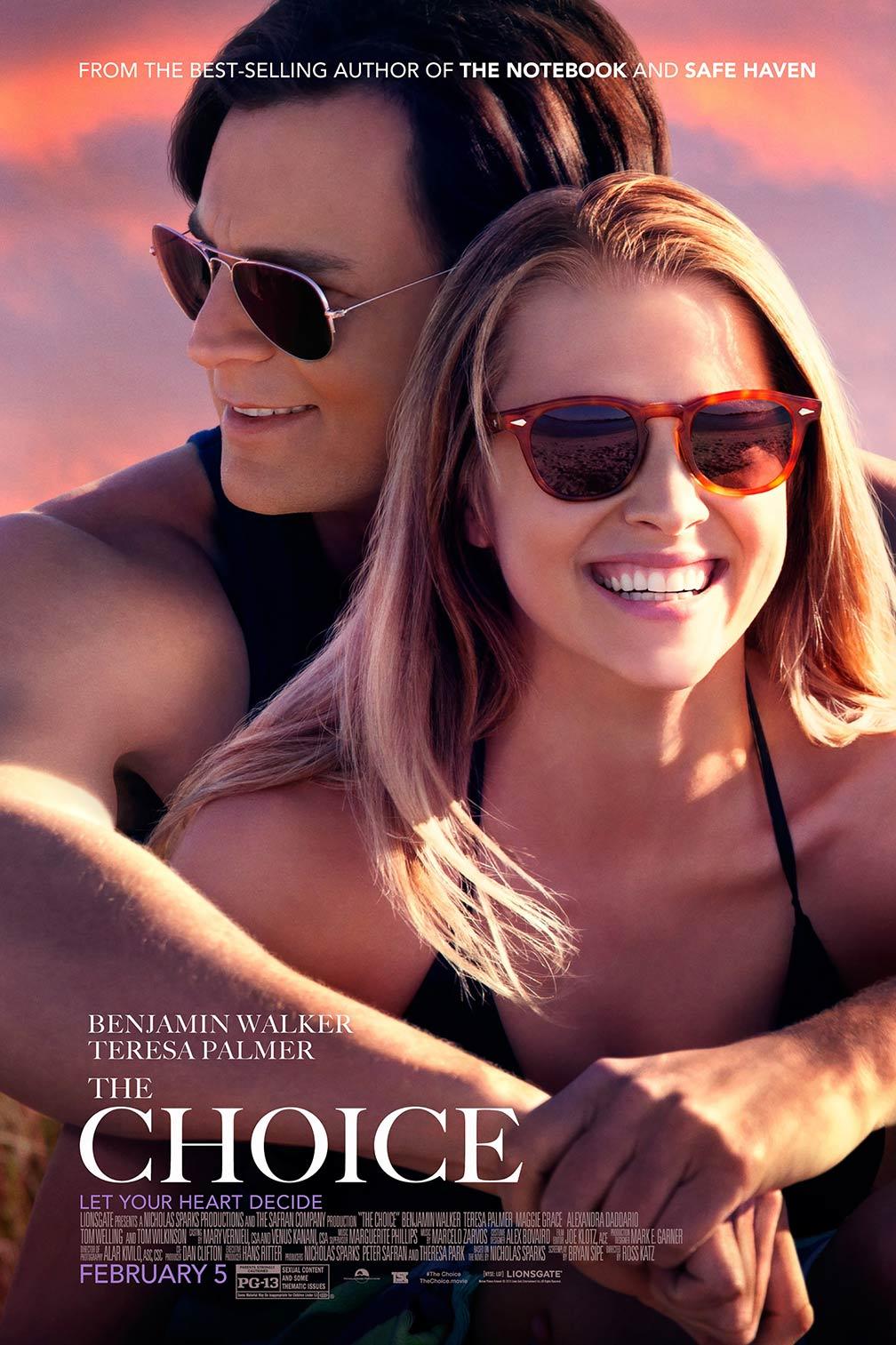 Poster do filme The Choice 2016
