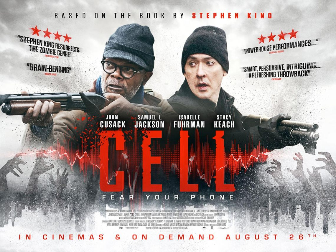Cell (2016) Poster #2 - Trailer Addict