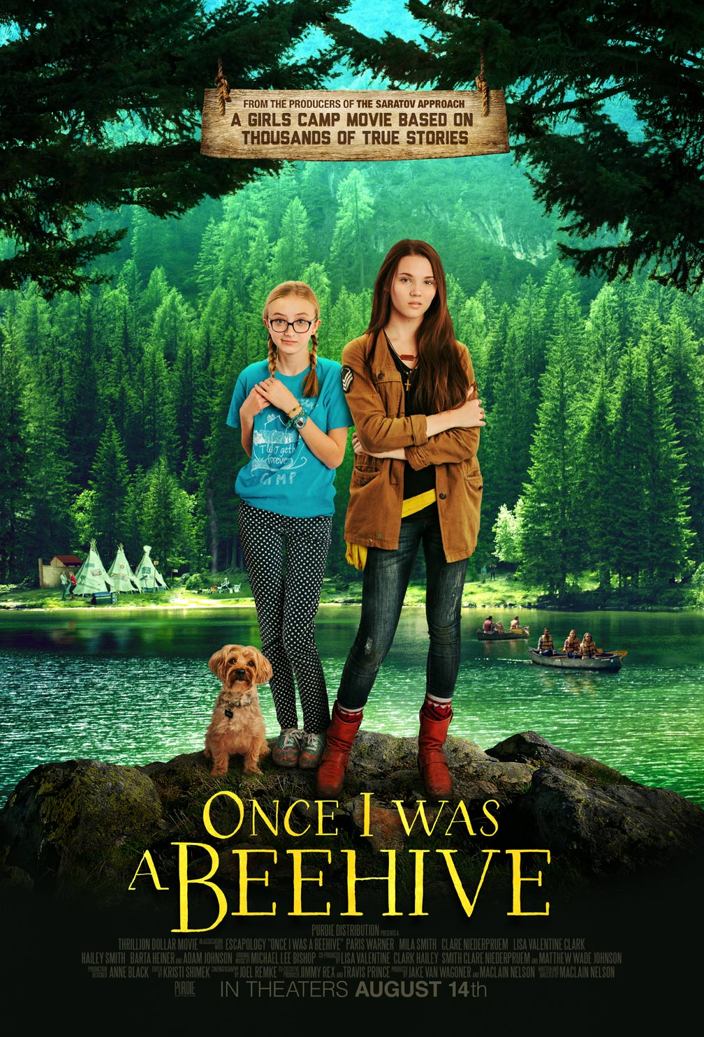Once I Was a Beehive Poster