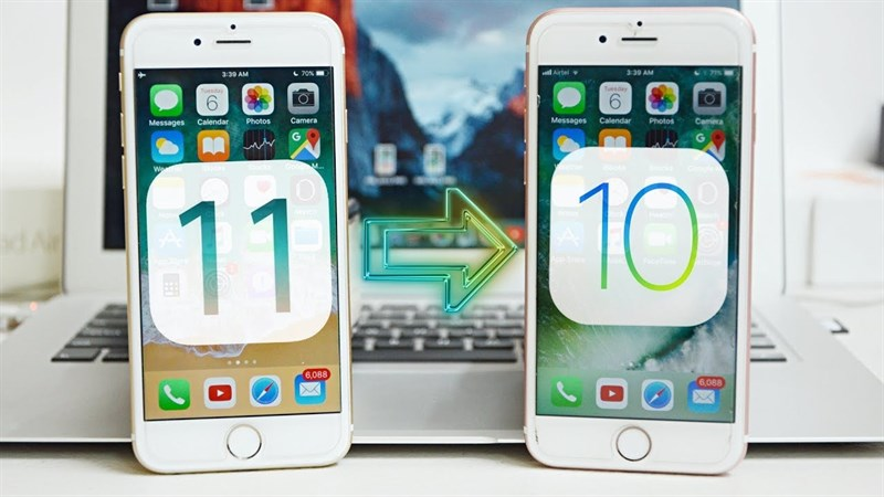 Hạ cấp iOS 11 xuống iOS 10.3.3 bằng 3uTools để nhanh hơn, mượt hơn, trâu hơn