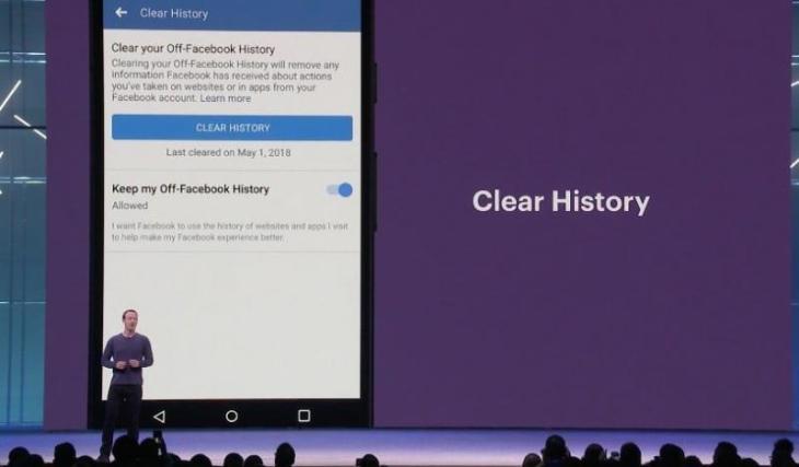 Clear History của Facebook là gì?