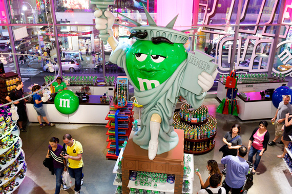 M&M's World Candy Store