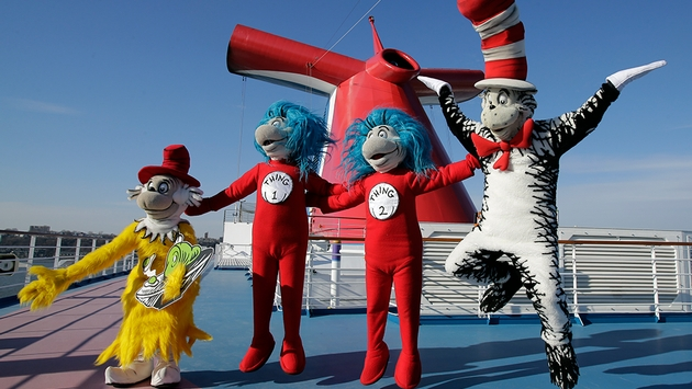 Carnival Cruise Line Partners with Dr. Suess