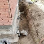 Foundation Repair Settling Home Stabilized In Rexburg Id Sinking Foundation