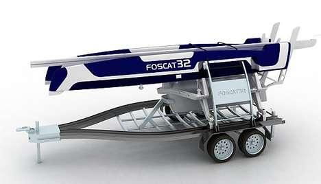 Foscat-32 Folding Catamaran 2