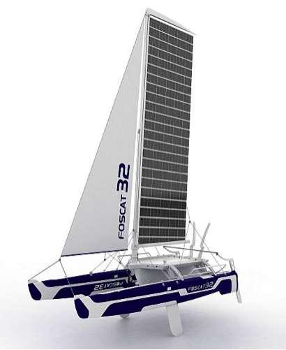 Foscat-32 Folding Catamaran 3