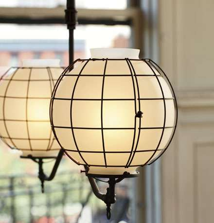 gas style industrial light fixtures