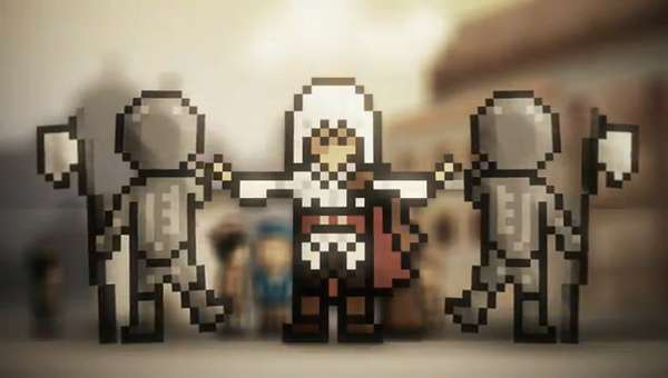 Modern Game Retrofications : 8-bit Assassin's Creed