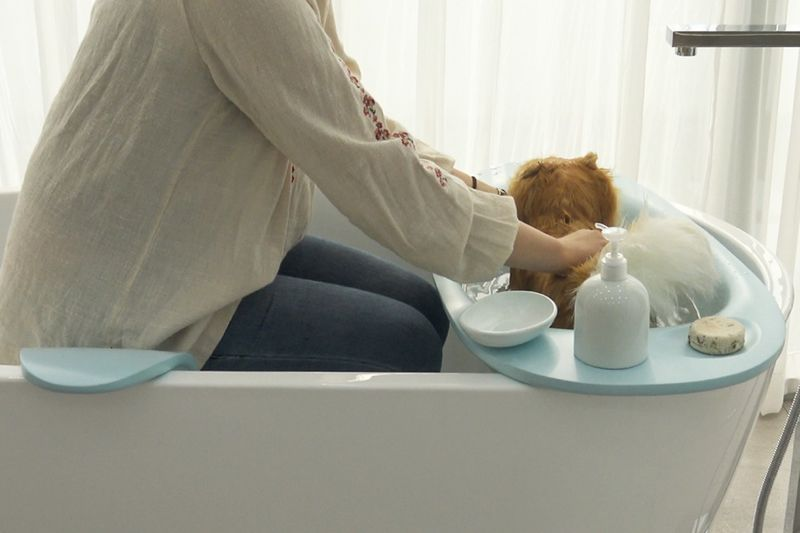 Canine Friendly Bathtub Accessories Bath Cradle