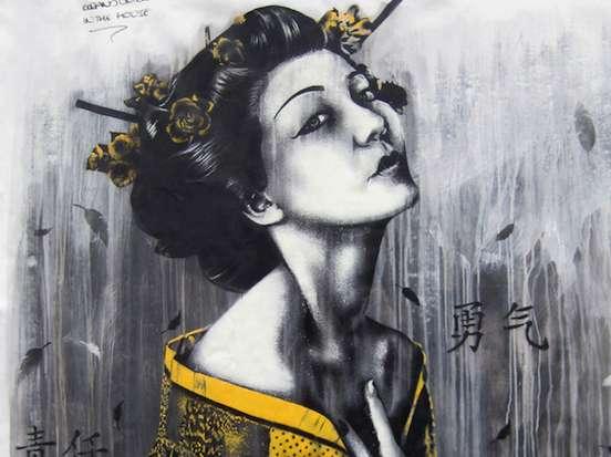 Advantageous Street Art Ben Slow Fin Dac