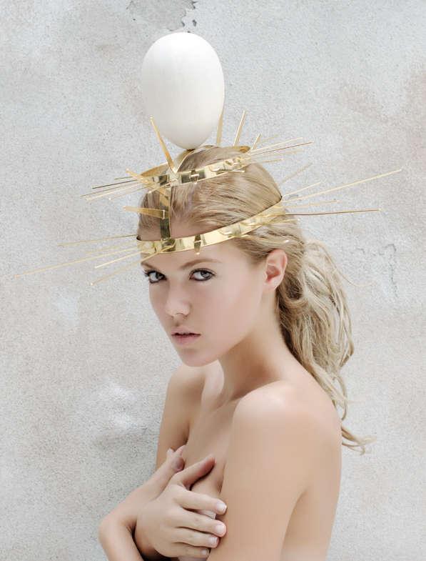 Unusual Avian Headpieces Bird Themed