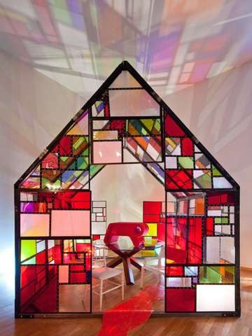 Stunning Stained Glass Homes Boffo Show House