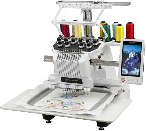 10 Machine Embroidery Brother Needle