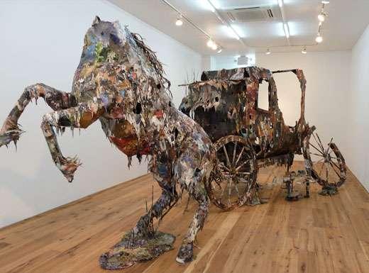 Dangerously Disheveled Sculptures Chris Jones