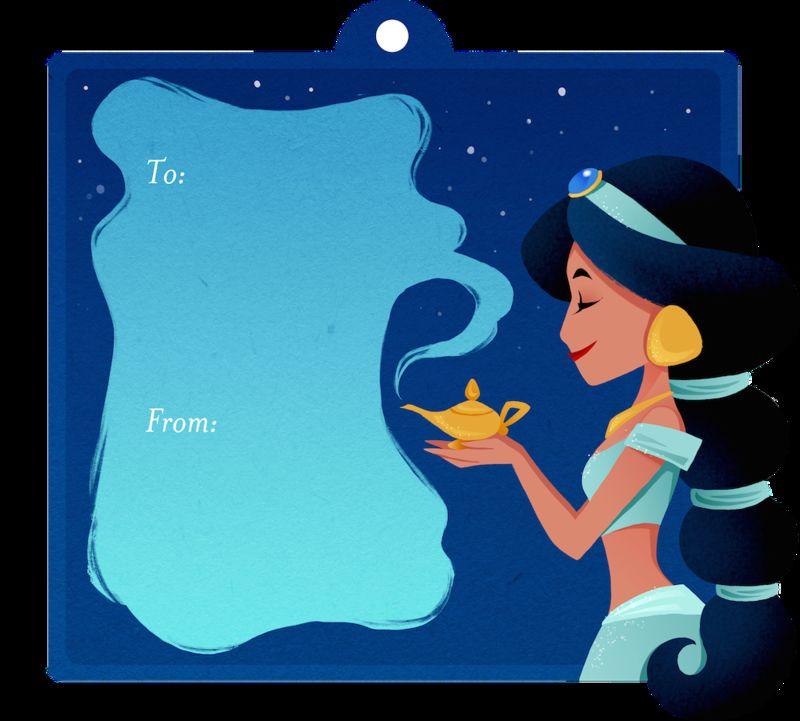 Disney Princess Gift Tags Disney Princess Gift