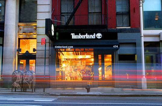 Carbon Neutral Urban Retail Timberland Opens Super Green
