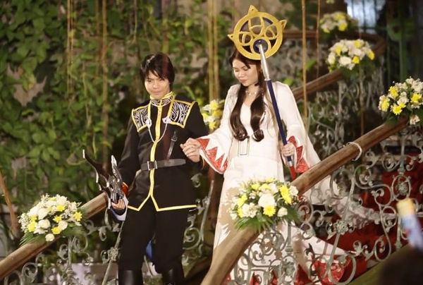 Cosplay Video Game Weddings : Final Fantasy Wedding