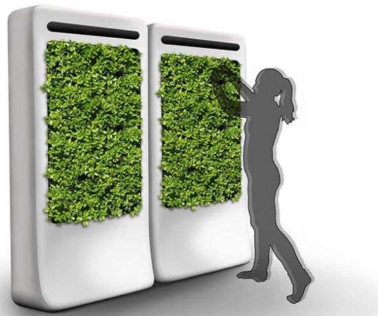 window indoor garden pods Indoor Gardening Pods : FreshWall