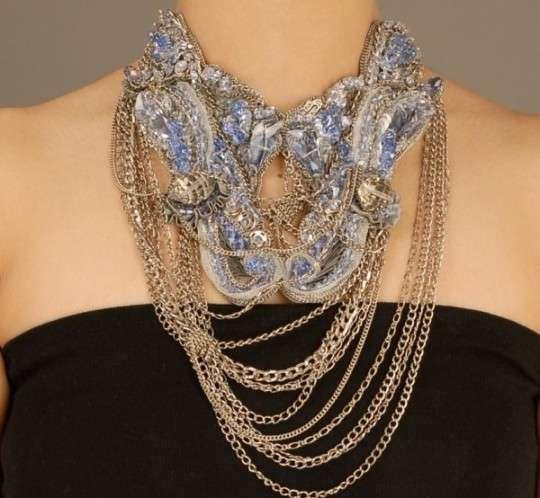 Tangled Neck Accessories Gaurav Gupta