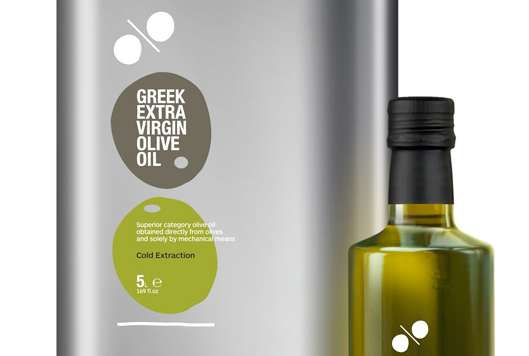 Symbolic Extract Branding Greek Extra Virgin Olive Oil