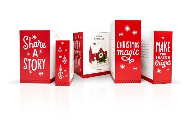 Hand Drawn Christmas Branding Hallmark Christmas