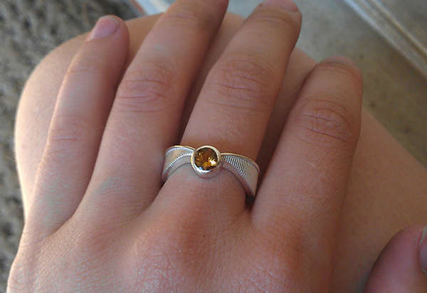 Romantic Wizard Jewelry Harry Potter Engagement Ring