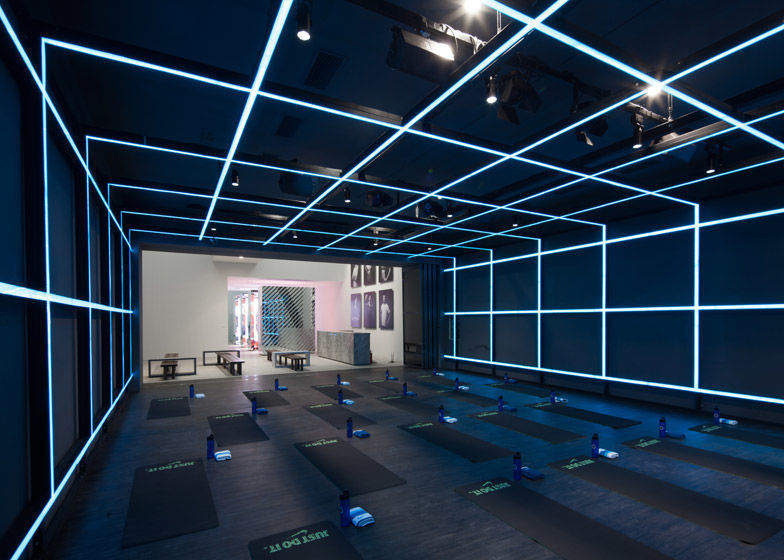 Futuristic Fitness Galleries Holiday Collection