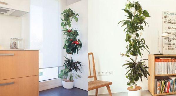 indoor vertical garden system Modular Hydroponic Planters : indoor vertical garden