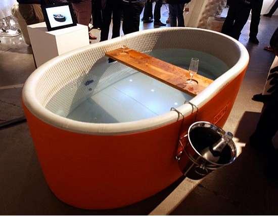 Aerated Luxury Tubs Inflatable Bathtub By Blofield