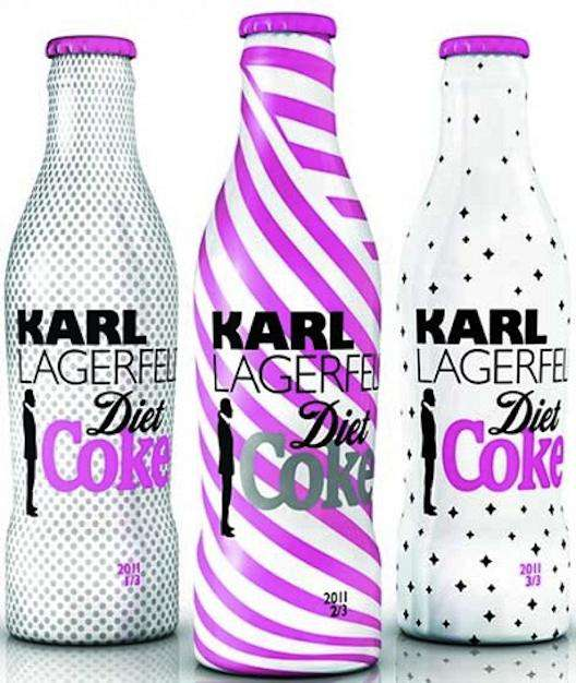 Karl Lagerfeld Diet Coke Bottles