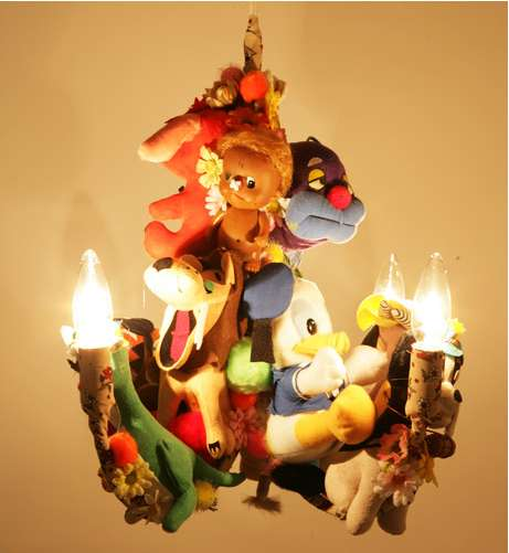Plush Toy Chandeliers Kim Songhe