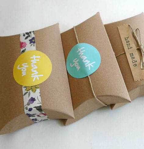 Eco Paper Gift Boxes Kraft Paper Gift Boxes