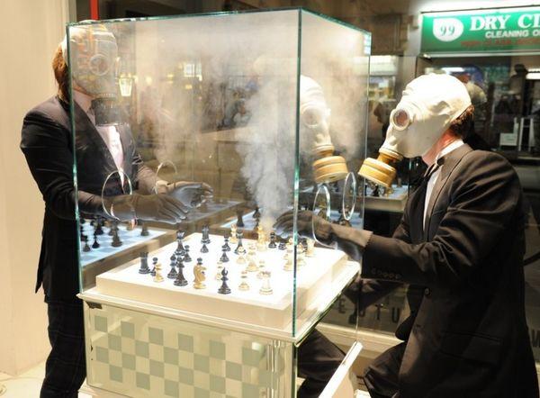 Chemical Emitting Board Games Luxury Chess Set