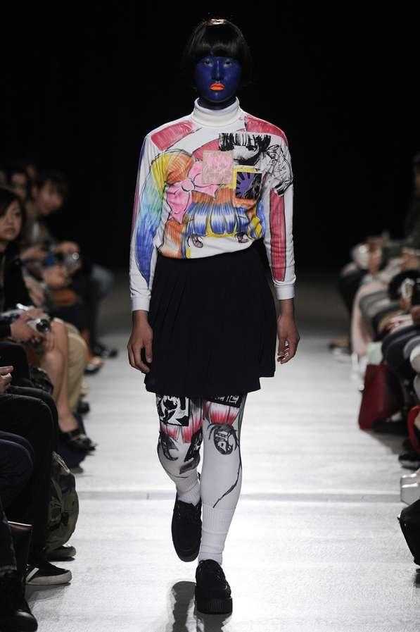 Androgynous Anime Collections The Mikio Sakabe Fall 2012