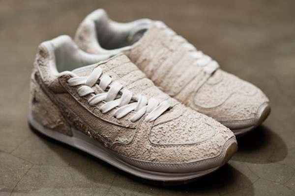 Deer Skin Running Shoes Number Nine Converse Odessa