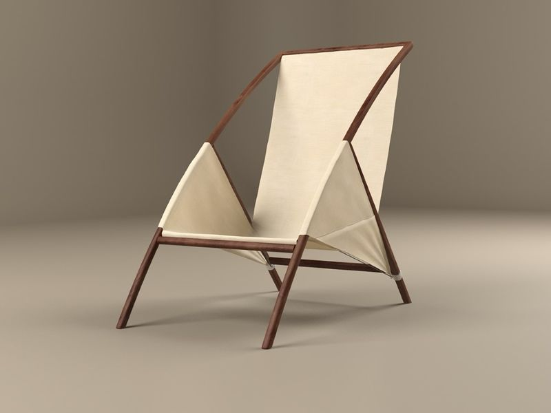 Elegant Canvas Chairs Outdoor Lawn Chair