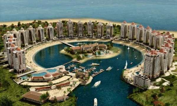 Multi Billion Dollar Man Made Island Pearl Qatar