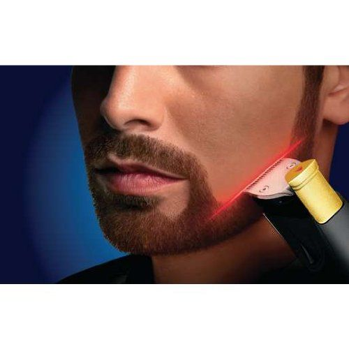 Laser Guided Facial Hair Clippers Philips Norelco Beard