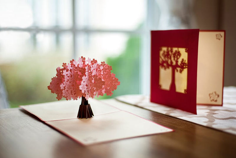 Laser Cut Pop Up Cards Pop Up Cards
