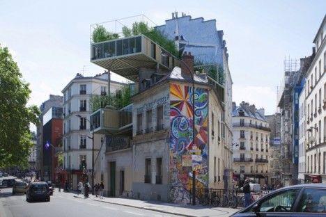 Prefabricated Parisian Apartments