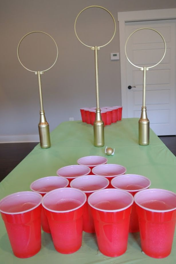 Wizardly Drinking Games Quidditch Game