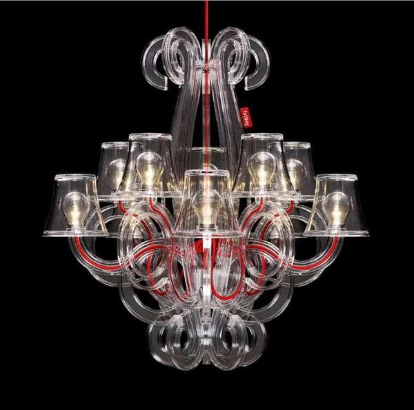 Baroque Inspired Outdoor Lighting
