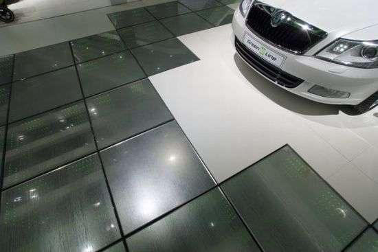 Skoda Energy Producing Tiles