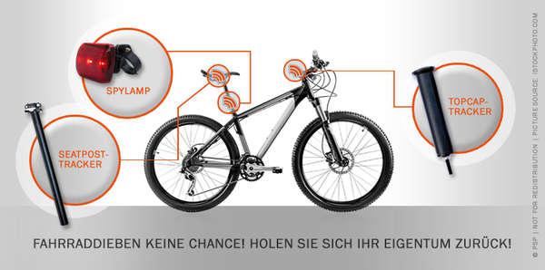 Anti-Theft GPS Bikes : SpyBike Invisible GPS