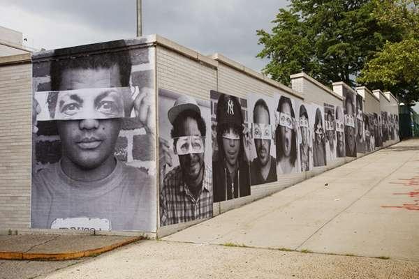 Rebellious Protest Art : Street artist JR
