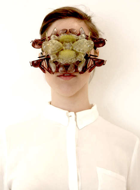 Colorfully Creepy Face Covers The Aesthetic Of Fears