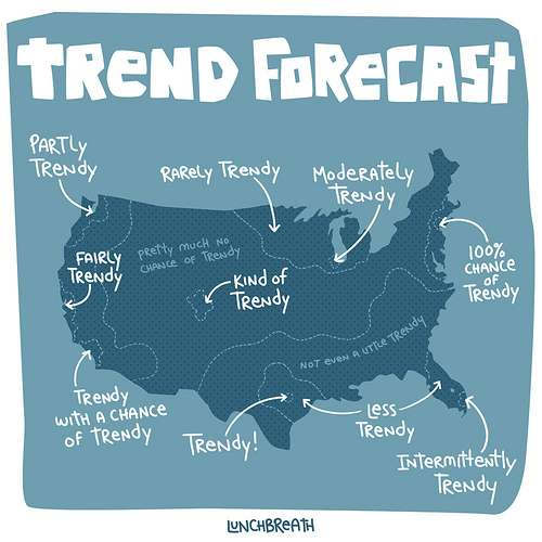Trend Forecast Maps: Geography by Innovation is Better ...
