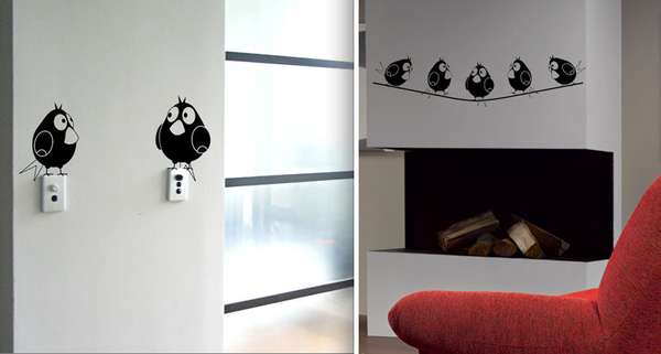 Pet Stickers: Ingenious Vinyl Wall Stickers Liven Up