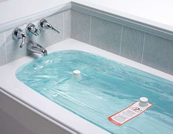 Bathtub Reservoir Bladders WaterBOB Emergency Drinking